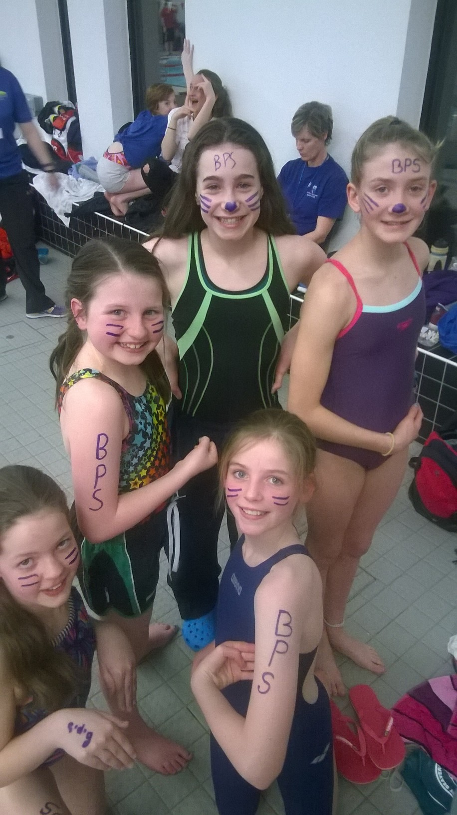 Banchory Primary School Girls Relay Team